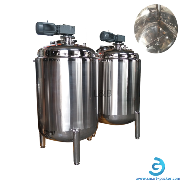 1000L mixing tank 1000L storage mixer tank shampoo perfume soap liquid making mixing tank machine