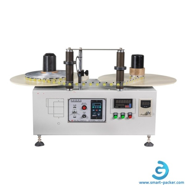 Automatic label reel to reel counting rewinding machine label roll to label roll counter rewinder machine with label reading sensor
