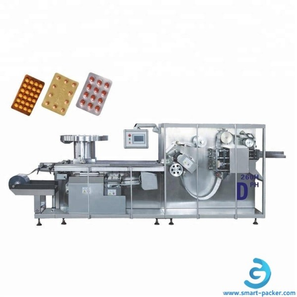 Automatic high speed tablet pill capsule blister PVC filling sealing packing machine blister packaging equipment for pharm medicine pills
