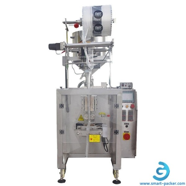 Automatic glue liquid bag sachet 3 side seal filling sealing packaging machine VFFS equipment for glue remover liquid chemical solution