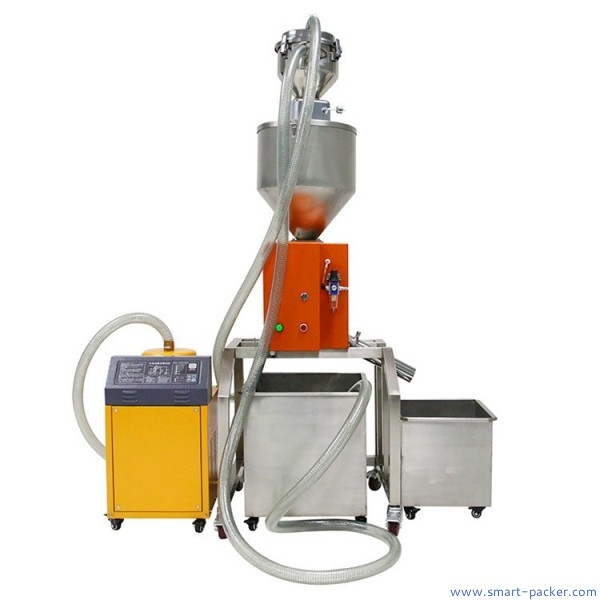 Automatic vauum pumping powder feeding metal detector machine powder detection machine