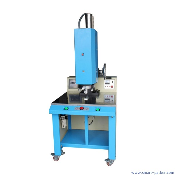 Semi automatic cup face mask breathing valve ultrasonic welding sealing machine toy parts welding equipment