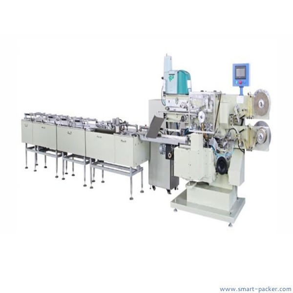 Automatic chocolate bar aluminum film folding wrapping packing machine candy film fold wrap packaging machine